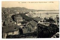 CPA 06 Alpes-Maritimes Cannes Vue générale prise de l'Eglise du Suquet