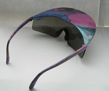 New Fab Vintage 1980s Peaked Sun Visor Sunglasses