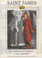 Publicité Advertising  1993  Pret à porter Tailleurs Vetement  SAINT JAMES