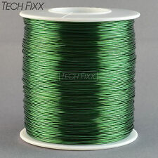 Magnet Wire 23 Gauge AWG Enameled Copper 628 Feet Coil Winding 1 Pound Green