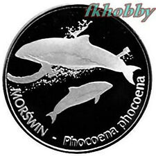 Polonia 2012 coins 15 Pos. Morświn Porpoise Fish Fisch Poissons Pesce Ryba ns
