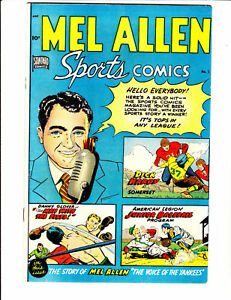 Mel Allen 5 (1949)- in Fine condition: FREE to combine