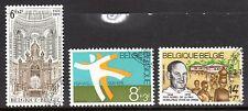 Belgium - 1978 Solidarity - Mi. 1970-72 VFU