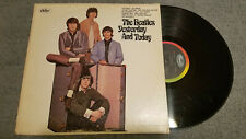 BEATLES YESTERDAY AND TODAY MONO LP T2553 (1966 RIAA #4 FIRST PRESSING0