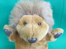 Vintage Commonwealth Brown Vinyl Paws Fuzzy Lion King Beast Plush Stuffed Animal