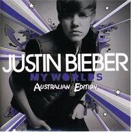 JUSTIN BIEBER My Worlds Australian Edition CD BRAND NEW