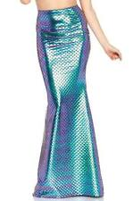 Brand New Iridescent Scale Mermaid Tail Skirt Medium Sizes 8-10