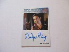 Star Trek DS9 Heroes & Villains Galyn Gorg as Korena Sisko Autograph