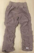 Naartjie Nwt 4T Girl Cord Corduroy Scrunch Khaki Cargo Pants Mink
