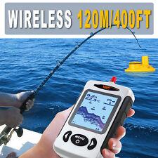 Lucky Wireless Screen Sonar Smart Fish Finder Waterproof 45M Depth Fishfinders
