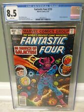 "Fantastic Four #210 CGC 8.5 ""Search for Galactus"" 1979 John Byrne Marvel Comics"