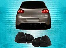 VW Golf MK5 Rear Tail Lights LED SMOKED Golf R Style 03-08
