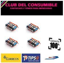20 X CARTUCHOS PGI520 CLI521 NO OEM CANON PIXMA MP 990 PIXMA MX 860 PIXMA MX 870