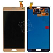 Gold OEM LCD Display + Touch Digitizer Assembly For Samsung Galaxy Note 4 N9100