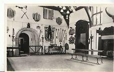 Staffordshire Postcard - Banqueting Hall - Tamworth Castle - Real Photo  ZZ1266