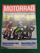 Motorrad 78/10 MV Augusta GP 1100 - Münch 1200 TTS-E - Van Veen OCR 1000
