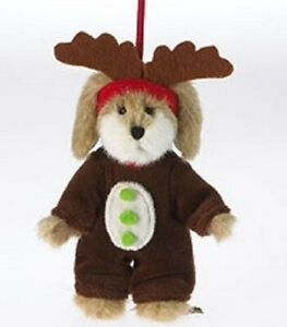 """BOYDS BEARS PLUSH ORNAMENT """"LIL MAX"""" PUPPY DOG 4034495 * NEW * FREE SHIPPING"""