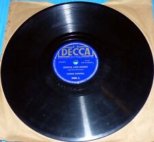Connie Boswell - Simple and Sweet & Heart and Soul / Decca 78