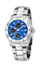 Relojes de pulsera cinésicos día y fecha para hombre