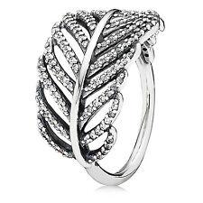 Pandora Light as a Feather Ring,Original, Brand New, Size: 7.5 / (56) #190886CZ