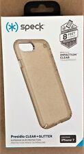 *NEW* Speck Presidio CLEAR + GLITTER case for Iphone 7