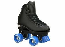 Riedell RW Wave Complete Skate Black JUNIOR BOYS's Size 10 AND 12
