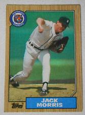 Jack Morris Topps #778 Detroit Tigers Pitcher