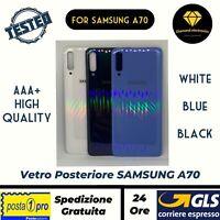 🔝 Vetro Posteriore Scocca Copertura Batteria Back Cover Samsung Galaxy A70