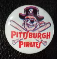 "Vintage 1970s Pittsburgh Pirates 3D Button 1"" Promo MLB"