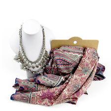 Joyas de la primavera de estilo marroquí, Bufanda Y Conjunto De Collar Para Mujer