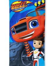 Boys Official Blaze & The Monster Machines Cars Beach Towel Fast Drying Towel