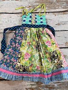 Matilda Jane Platinum knot dress - htf sz 6
