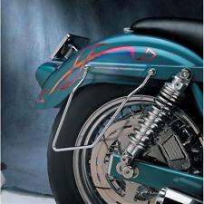 Drag Specialties Chrome Saddlebag Support Brackets for 82-94 Harley FXR