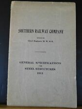 Southern Railway Co General Specifications for Steel Structures 1911