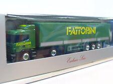 Herpa 1/87 Scania Pritschensattelzug Fattorini OVP (TR9231)