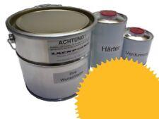 5 Litres Kit 2K Peinture Voiture Ral 1021 Jaune Colza Eclat pas de Transparente