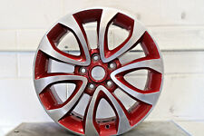 "1 X Véritable Original Nissan Juke 17 """" Roue Alliage Force Rouge Coupe Diamant"