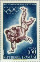 EBS France 1964 Summer Olympics, Tokyo - Judo MNH** YT1428
