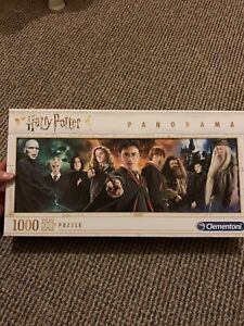 Harry Potter 1000 Piece Jigsaw Puzzle, Panorama, Bargain! Clementoni