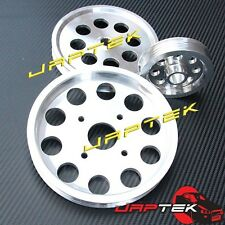 Lightweight Pulley Set for Nissan Skyline R32 R33 RB20DET RB25DET GTS GTST RB25
