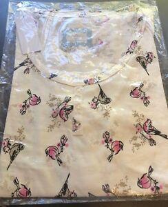 Pretty Secrets Pyjama Top Nightwear Short Sleeved Various Plus Sz 16-18-24/26 BN