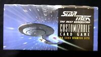 Star Trek Next Generation Decipher CCG Starter Deck Box New 1994/5 Amricons