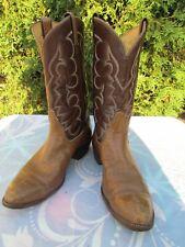 Men's Tony Lama 14 D Brown Vintage Cowboy Boots