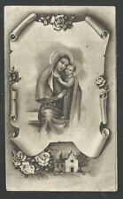 Holy card antique de la Virgin del Buen Consejo santino image pieuse estampa