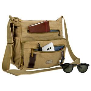 """Tablet Canvas Shoulder Messenger Travel School Bag Satchel For 12.9"""" iPad Pro US"""