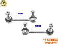 FOR TOYOTA LANDRUISER 02-10 FRONT LEFT RIGHT ANTIROLL BAR STABILISER DROP LINKS