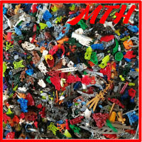 LEGO 1KG Bionicle Bundle 1000g Mixed Spare Parts Pieces Bulk Job Lot Weapons VGC