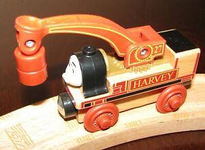 Thomas & Friends Wooden Railway Harvey Crane Engine