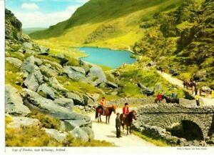 Gap of Dunloe Killarney Ireland Vintage John Hinde Giant Postcard