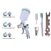 HVLP Auto Paint Air Spray Gun Kit Gravity Feed Car Primer 1.4MM-2.0MM Nozzle